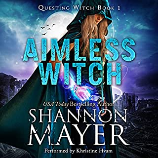 Aimless Witch                   By:                                                                                                                                 Shannon Mayer                               Narrated by:                                                                                                                                 Khristine Hvam                      Length: 9 hrs and 11 mins     150 ratings     Overall 4.7