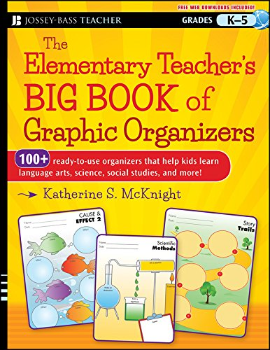 Compare Textbook Prices for The Elementary Teacher's Big Book of Graphic Organizers, K-5: 100+ Ready-to-Use Organizers That Help Kids Learn Language Arts, Science, Social Studies, and More 1 Edition ISBN 9781118343043 by McKnight, Katherine S.