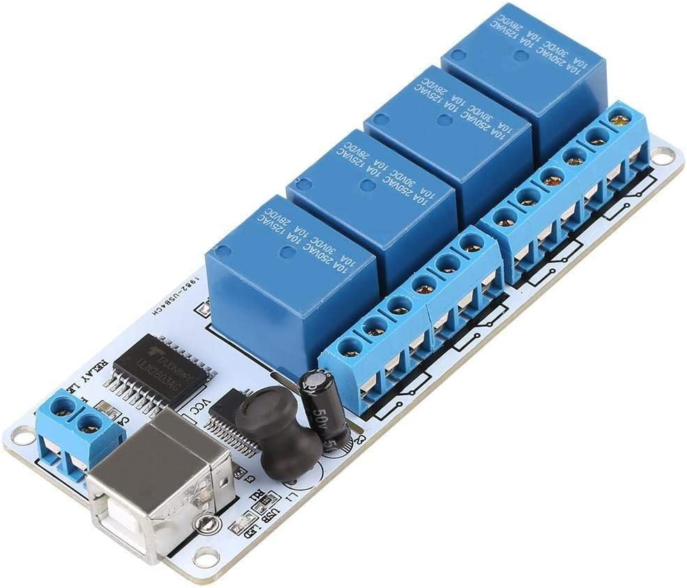 JKCKHA USB Relay Controller Re 200mA Translated 4-Channel Department store Type-B