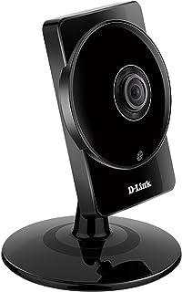 D-Link DCS-960L - Cámara HD 180º WiFi DualBand videovigilancia (IP con micrófono y visión Nocturna Compatible con App mydlink - iOS y Android)