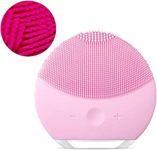 Facial Cleansing Brushes, Electric Silicone Face Massager Brush Waterproof Deep Exfoliator Makeup Tool Clean Blackhead Beauty Instrument