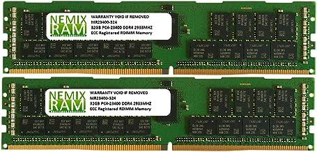 64GB 2x32GB DDR4-2933 PC4-23400 RDIMM Memory for Apple Mac Pro Rack 2020 MacPro 7,1 by NEMIX RAM