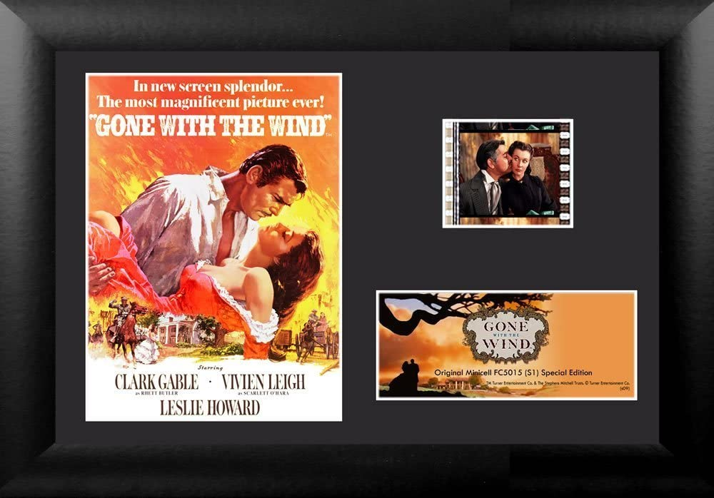 Gone With The Wind Poster S1 Film Minic Special Washington Mall Campaign and Framed Cell Matted