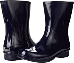 Polished Mid Rain Boots