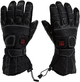 VentureHeat 12V Heated Grand Touring Motorcycle Gloves (Black, Large)