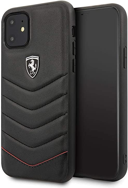 Custodia per iphone 11 ferrari motivo: heritage colore: nero cover ferrari iphone 11 FEHQUHCN61BK