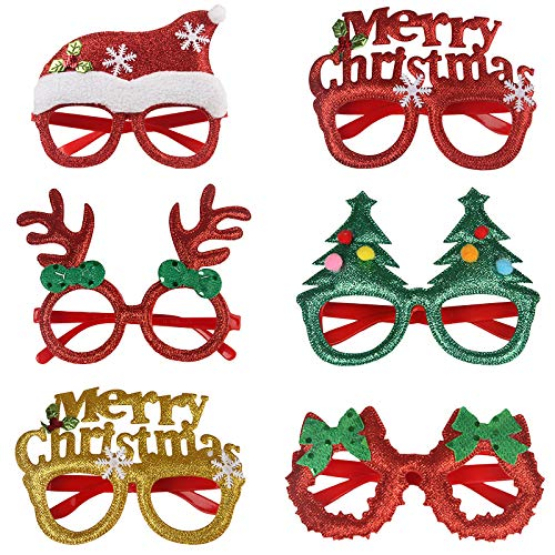 ZARRS Occhiali di Natale