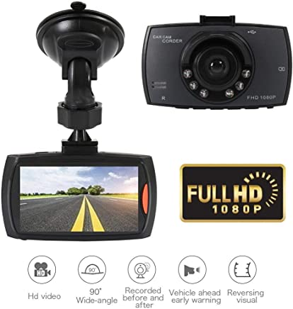 1080P Full HD Camcorder Car Video Recorder Camera Vehicle Dash Night Vision Cam
