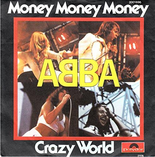 Abba / Money Money Money / Crazy World / 1976 / Bildhülle...