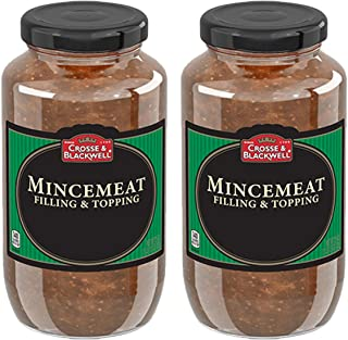 Cross & Blackwell Mincemeat Pie Filling and Topping | (2) 29 Ounce Jar – Gourmet,..
