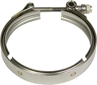 BD Diesel 1405926 V-Band Clamp Exhaust Clamp For Use w/4 in. Half Marmon HX40 Flange V-Band Clamp