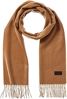 Men's Cashmere Scarf - 100% Italian Cashmere, 72 inches x 12 inches, by Hickey Freeman