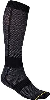 Klim Vented Adult Off-Road Motorcycle Socks - Gray/Small