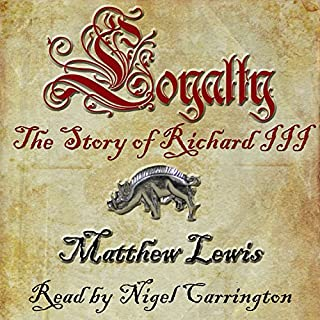 Loyalty                   By:                                                                                                                                 Matthew Lewis                               Narrated by:                                                                                                                                 Nigel Carrington                      Length: 14 hrs and 22 mins     106 ratings     Overall 4.3