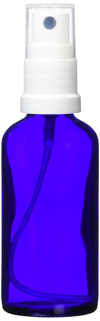あからさまセマフォ結晶ease 保存容器 スプレータイプ ガラス 青色 50ml
