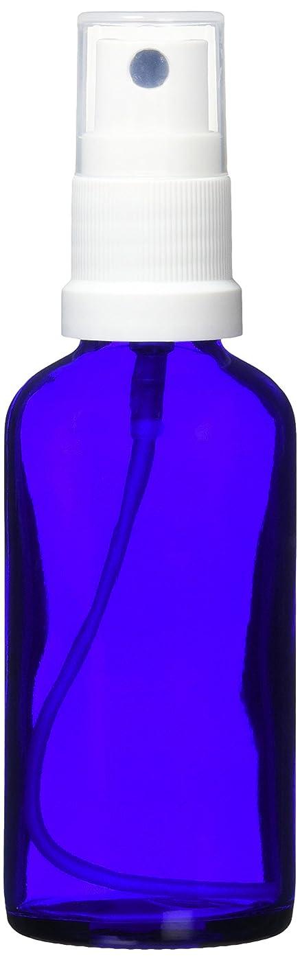 放出実験的ペンease 保存容器 スプレータイプ ガラス 青色 50ml