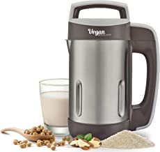 Vegan Milk Machine- Vegan Revolution make milk from grains seeds or nuts almonds soybean coconuts rice easy to use stainle...