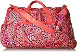 Vera Bradley Women's Lighten Up Ultimate Gym Bag, Coral Meadow
