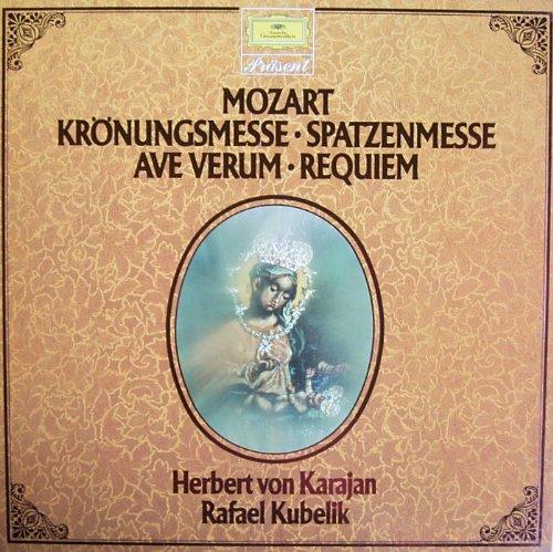Mozart: Krönungsmesse / Spatzenmesse / Ave Verum / Requiem [Vinyl Schallplatte] [2 LP Box-Set]