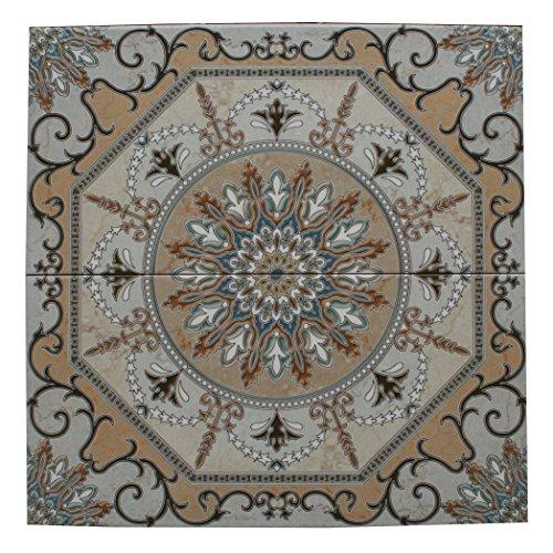 2 Keramikfliesen Fliesenbild Wandfliesen Mosaikfliesen marokkanische Fliesen