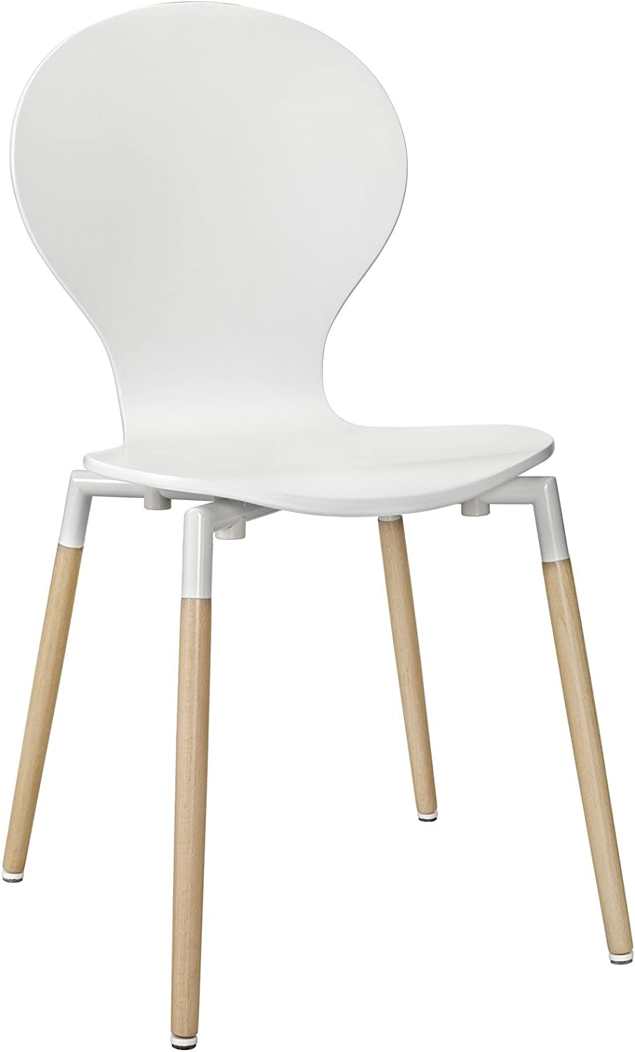 Modway Path Dining Chair, White
