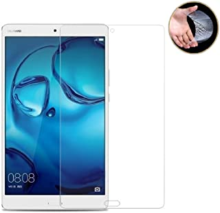 dtab Compact d-01J フィルム Huawei M3 8.4 フィルム LeTrade Huawei MediaPad M3 8.4/dtab Compact d-01J 専用 強化ガラス 液晶保護フィルム 気泡防止 耐指紋 高透明 飛散防止処理 硬度9H 2.5D Touch対応