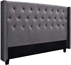 Artiss LUCA King Size Bed Head Headboard Bedhead Leather Base Frame