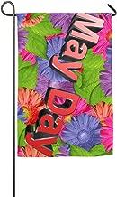 Xiaofz Seasonal Garden Flag May Day Holiday Yard Flag Outdoor Decorative-12 X18/18