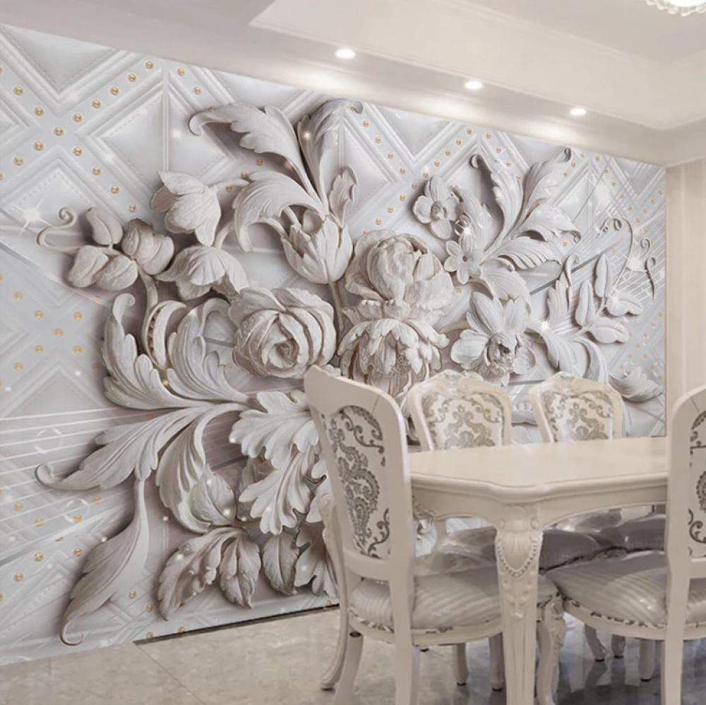 Mural European Style Max 40% OFF Wall Painting Flower Embossed Styl Max 61% OFF