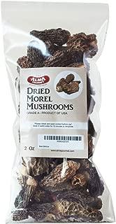 Alma Gourmet Wild Morel Mushrooms Whole Dried 2 Ounce