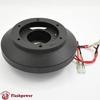 Flashpower Steering Wheel Short Adapter for BMW E46 328i 323i 330i M3 Mini Cooper Black