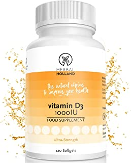 Vitamina D3 Herbal Holland: complemento