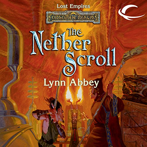 The Nether Scroll audiobook cover art