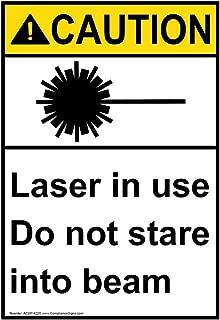 Best caution laser beam sign Reviews