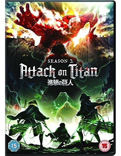 Attack on Titan - Season 2(Funimation) [DVD] [2018] [UK Import]