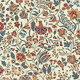 Textiles français Baumwollstoff | Les Fleurs d'Inde
