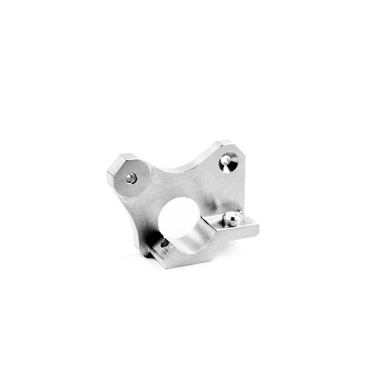 Micro Swiss CNC Machined Aluminum Extruder Plate for Wanhao i3