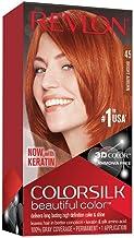 Revlon ColorSilk Beautiful Color 45 Marrón coloración del cabello - Coloración del cabello (Marrón, Bright Auburn)