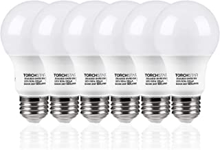 TORCHSTAR A19 LED Light Bulb, 9W (60W Equivalent), 820lm, 5000K Daylight, UL Listed,..