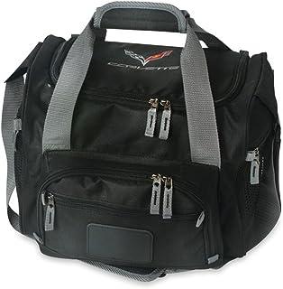 حقيبة تبريد C7 كورفيت مطرزة (أسود)