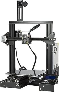 Comgrow Creality 3D DIY Impresora 3D Ender-3 con Placa de Vidrio Templado y Cinco Boquillas Tamaño de Impresión 220x220x250 mm (Ender-3X)
