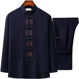 ZooBoo Tai Chi Uniform Shirt - Qi Gong Martial Arts Wing Chun Shaolin Kung Fu Shirt Training Cloths Apparel Clothing