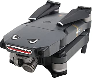 Shark Decoration Waterproof Decal Skin Sticker for DJI Mavic Pro RC Drone
