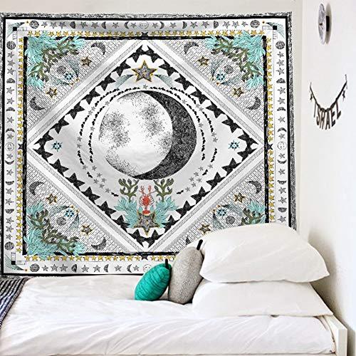 ZYBC Tapices Mandala Bohemia Alfombras De Playa Manta De Toallas Psicodélicas Hippie para Dormitorio Sala De Estar Dormitorio (16,S)