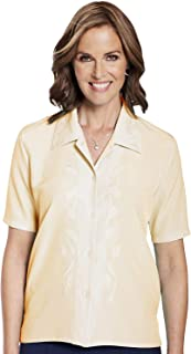 Chums Ladies Womens Embroidered Blouse