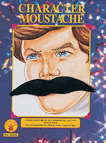 Rubie 's oficial bigote Surtido, disfraz para adultos–talla única