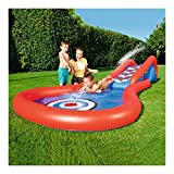 YANGSANJIN Inflatable Paddling Pool with Slide, Inflatable Family Outdoor Pool for Kids, Big Outdoor Toys for Summer Activity Swimming,Children's Slide