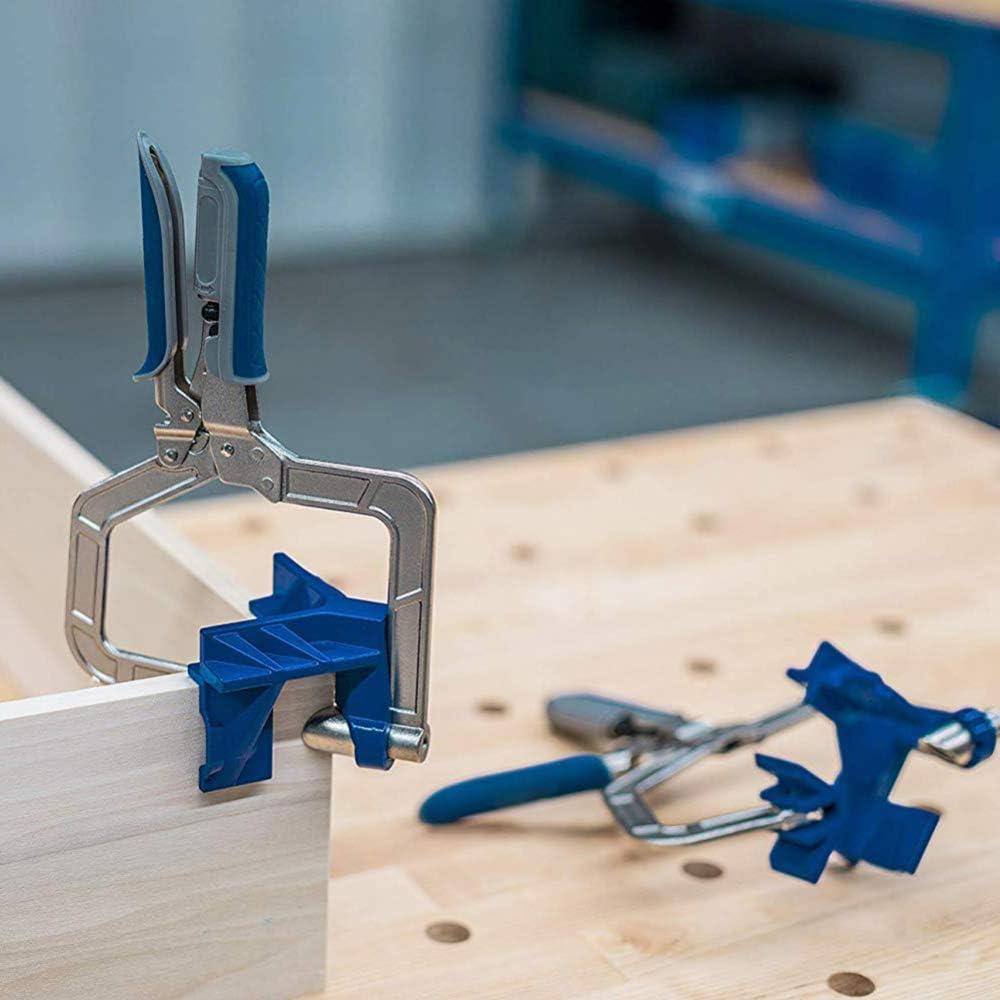 Werkzeuge f/ür Holzarbeiten 2 St/ück Tischler 90 Grad Eckklemme Bilderrahmen Schwei/ßen automatisch verstellbar 90 /° rechtwinklige Klemmen Maschinenbau