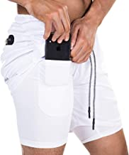 Ouber Men's 2-in-1 Running Shorts 7