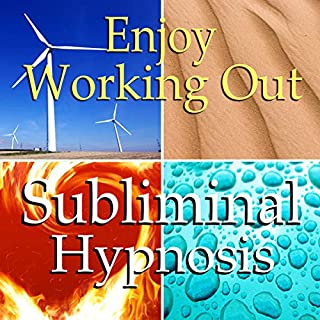 Enjoy Working Out Subliminal Affirmations audiobook cover art